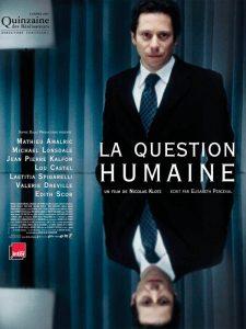 Sophie Dulac Production La Question Humaine Klotz